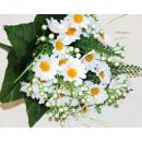 grossiste Fleurs artificielles: Magaritenstrauß XL  exécution de LUXE 35x20cm