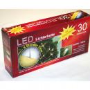 30 LED Lichterkette mit Zeitschaltuhr