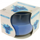 Scented candle glass anti-smoke colored wax
