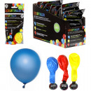 LED Balloon, set  of 3, 3 assorted colors