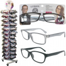 Reading Glasses  Fashion ranked on stand