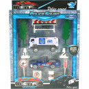 wholesale Toys: Playset police 10 pcs 4x assorted box