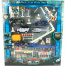 Playset police 28 or 36tlg 2fach sort in Box