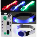 wholesale Jewelry & Watches: LED bracelet made  of plastic, sort three colors. 9