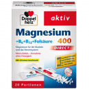 Double Magnesium + B6 + B12 direct 20-poort.