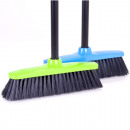 Broom with handle  110cm30cm 2-piece 2 colors sort.