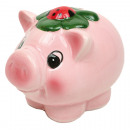 grossiste Epargner boite: Piggy XL 11x9x8cm  avec fermeture en caoutchouc,