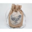 ingrosso Articoli da Regalo & Cartoleria: Iuta con gallo motivo, 2 veli