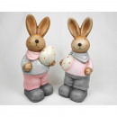 Hase XXL with large hand-painted egg