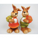 Sorted Hase XXL Happy Easter, 2-fold