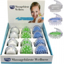 wholesale Wellness & Massage: Wellness Massage  brush 12 pcs in display