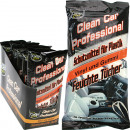 Wipes CLEAN car vinyl + rubber 30s