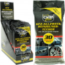 Car Wipes CLEAN General Purpose, 30