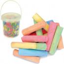wholesale Toys: Straßenmalkreide 12er in the bucket