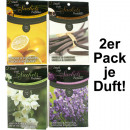 wholesale Room Sprays & Scented Oils: ranked Duftsachet 2 pack, 4 Fragrances