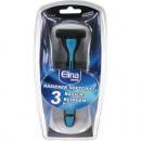 wholesale Shaving & Hair Removal: Shaver 1er + 3  blades, Elina Luxury Man