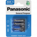 wholesale Batteries & Accumulators:Battery PANASONIC AAA 4p