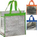 Großhandel Taschen & Reiseartikel: Kühltasche  30x28x15 cm mit Klettverschluss