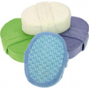 hurtownia Srodki & materialy czyszczace: Gąbki do kąpieli  Luxury mikrofibry 15x11x5cm