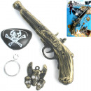 wholesale Toys: Pistol Pirate m. Eyepatch, 24cm