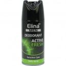 Deospray Elina Sport voor mannen 150ml Fresh