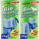 groothandel Reinigingsproducten: Ontkalker Organic Powder 2x25g
