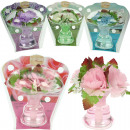 Air fresheners  bouquet in glass vase 50ml