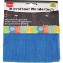 groothandel Reinigingsproducten: Microvezeldoek  CLEAN wonder van 2 30x30 cm blauw