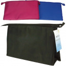 wholesale Bags & Travel accessories: Cosmetic bag  30x18x5cm sorted plain