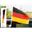 grossiste Gadgets et souvenirs: drapeau voiture  45x30cm, bar plus large