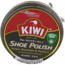 wholesale Shoe Accessories: Shoe polish 50ml dark KIWI in box
