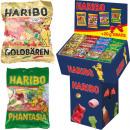 groothandel Food producten: Haribo 200g + 20g gratis op het scherm