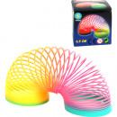 Springspirale Regenbogenfarben