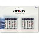 grossiste Maison et cuisine: Batterie Arcas R06 Mignon AA 8er Plan