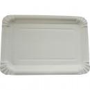 Parti assiette 10  17x23cm enveloppé blanc
