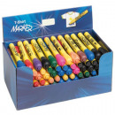 wholesale Gifts & Stationery: Textile Marker Pen  5 assorted colors in the displa