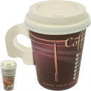Party cup Coffee To Go 6 Series 0.2L with lid