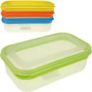 groothandel Keukengerei: Frischhaltedose Color Line 18x10x5cm