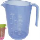 wholesale Cups & Mugs: Measuring cup 0.5L transparen color