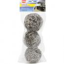 mayorista Casa y cocina: Acero 3x20g  espiral de  limpieza de acero ...