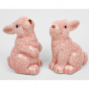 groothandel Home & Living:Hare 7x4x4cm wit