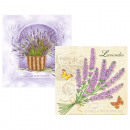 wholesale Household Goods: Servietten 20er  33x33cm 3-ply Lavender