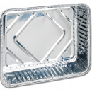 wholesale Garden & DIY store: Grill 3 aluminum trays rectangular