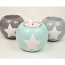 wholesale Home & Living: Teelichthalter XL  with large star 9x7,5cm