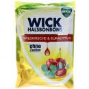 groothandel Zoetwaren: Eten Wick  hoestdalingen 72g wilde kers
