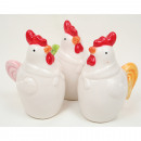 Chicken 8x6x 4cm, assorted colors