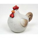 Chicken bellied antique look 9x7x8cm