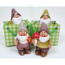 wholesale Home & Living: Garden Gnome Ceramic sorted,