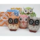 ingrosso Articoli da Regalo & Cartoleria: Gufo nel sacchetto  del regalo, in ceramica,