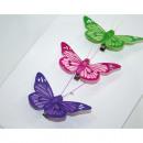mayorista Otro: Mariposas conjunto  de 3, con abrazadera de metal